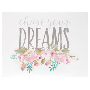 Chase Your Dreams Wood Wall Decor